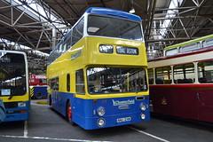 Chesterfield 124 NNU124M (Clifton009) Tags: 124 roe chesterfield daimler fleetline nnu124m