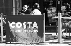 Coffee lovers in Leeds. ((c) MAMF photography..) Tags: blackandwhite blackwhite britain bw biancoenero blancoynegro blanco blancoenero city citycentre citystreets dark england enblancoynegro flickrcom flickr coffee costacoffee google googleimages gb greatbritain greatphotographers greatphoto candid inbiancoenero image leeds ls1 leedscitycentre mamfphotography mamf monochrome nikon noiretblanc noir north negro nikond7100 northernengland onthestreet photography pretoebranco photo people schwarzundweis schwarz street town uk unitedkingdom upnorth westyorkshire yorkshire zwartenwit zwartwit zwart