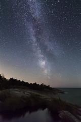 The Milky Way (jsalonen) Tags: kirkkonummi porkkala milkyway astrophotography nature landscape finland