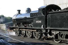Super D On Shed. (neilh156) Tags: steamloco steamengine steamrailway railway 49395 grosmontshed grosmont northyorksmoorsrailway nymr superd lnwr beames