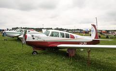LV-JRA Mooney M20, Oshkosh (wwshack) Tags: airventure2016 eaa eaaairventure kosh m20 mooney osh oshkosh usa unitedstates whittmanregional wisconsin lvjra