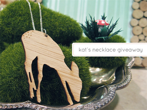 Kat's giveaway