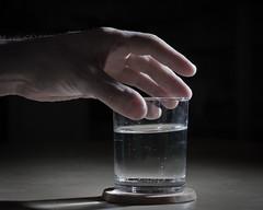 215. Suds & Soda (Lonyl) Tags: portrait water glass self canon hand drink liquid speedlite project365 365days 40d 430exii lonyl jrnolavlkken