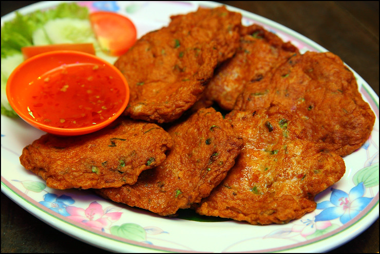 Thai Fish Cakes No Red Curry Paste