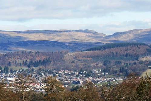 View of Crieff, home of Glenturret