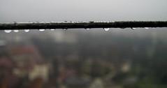 sur le fil (la pathtique) Tags: rain torino nikon pluie fil le sur museo d100 mole pioggia filo ferro antonelliana
