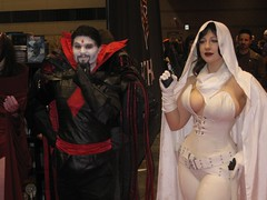 Mister Sinister and Ghost (BelleChere) Tags: chicago costume comic cosplay ghost marvel darkhorse c2e2 mistersinister