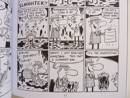 Take a Joke: Vol. 3 of the Collected Angry Youth Comix by Johnny Ryan - detail
