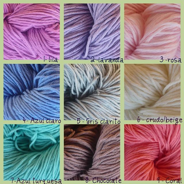Nuevos colores de algodón!
