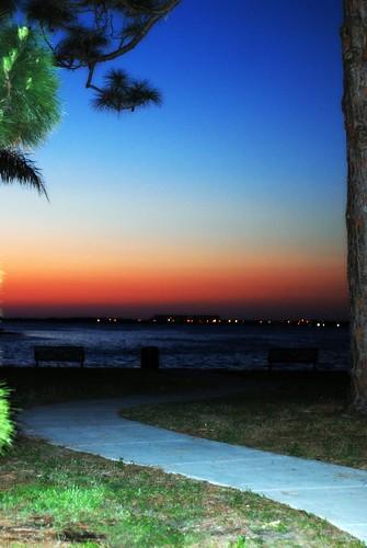mira vista park dunedin fl sunset