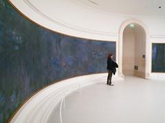 "Claude Monet, ""Les Nymphéas,"" Reflets d'arbres"