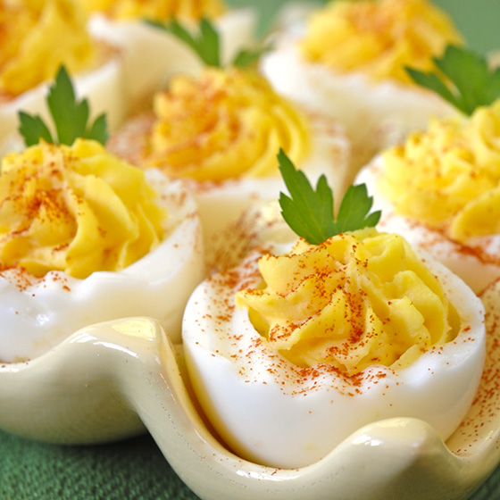 Deviled Eggs the Whole Family Will Like