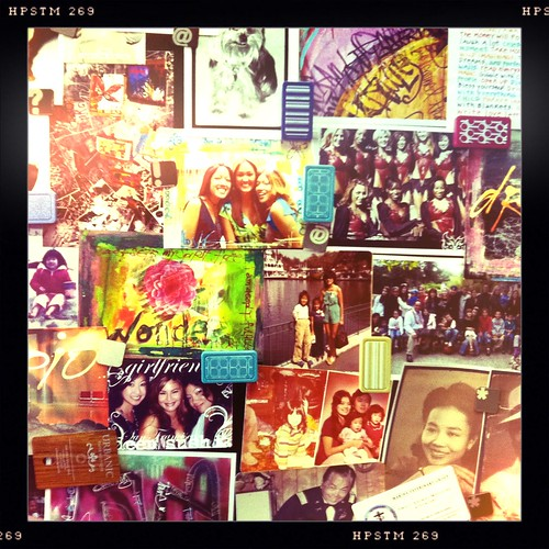 taking down the collage on the fridge..memories..LOVE <3