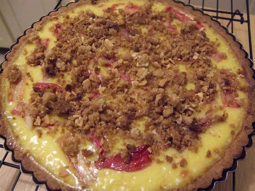 rhubarb custard tart_02