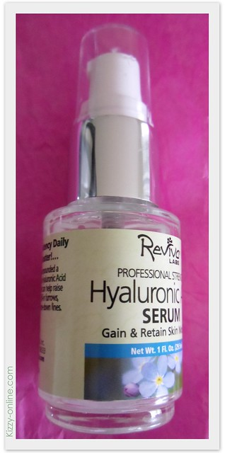Reviva Labs Hyaluronic Acid Serum