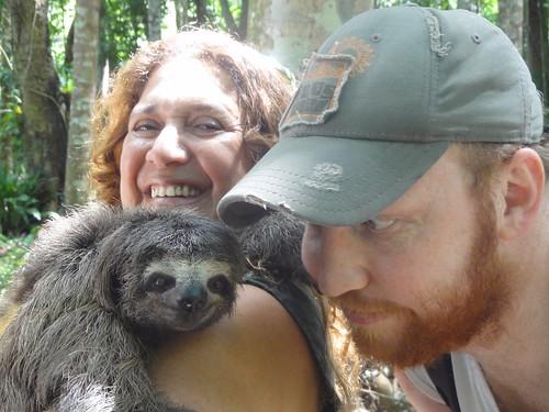 Sloth With Human Teeth