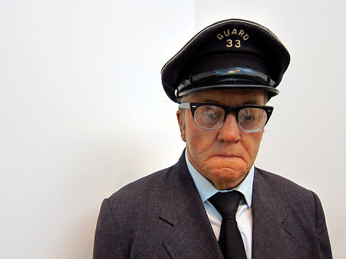 Duane Hanson - Museum Guard (1975) by Rodger Coleman