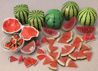 I have a LOT of watermelon!