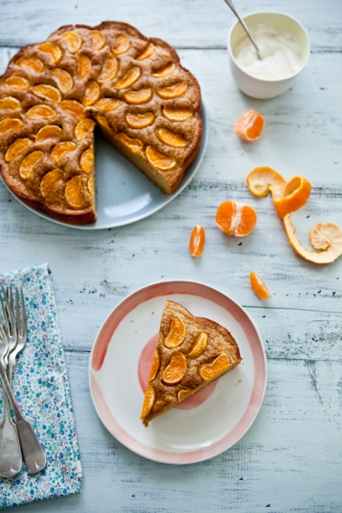 Buttermilk Cake With Pixie Tangerines