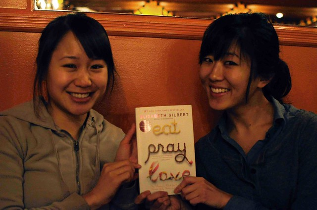 lolamb's book club eat pray love dinner