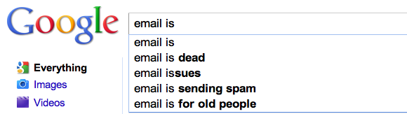 Google email is