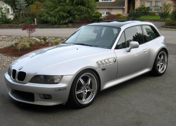2001 Z3 Coupe Titanium Silver Black Coupe