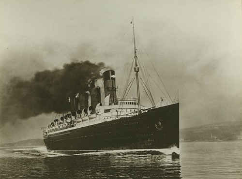 Mauretania - Full speed ahead