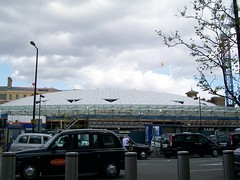 King's Cross's new concourse roof (G,C&T l'ry unable to upload for a while) Tags: cross railwaystation kingscross kingscrossstation nationalrail networkrail ukrailways londonkings