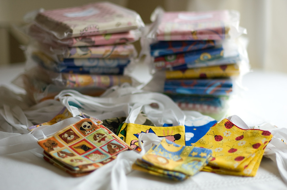 More than 100 pillowcases