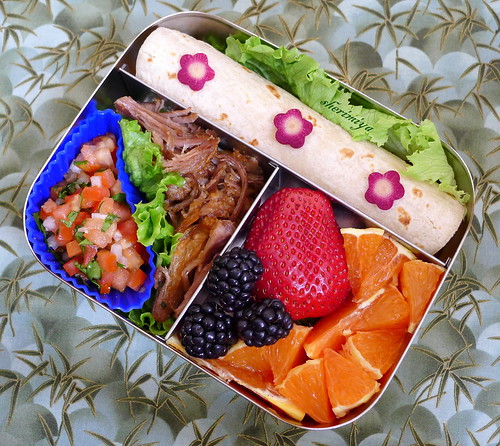 Kalua Pork Carnitas Taco Bento by sherimiya ♥