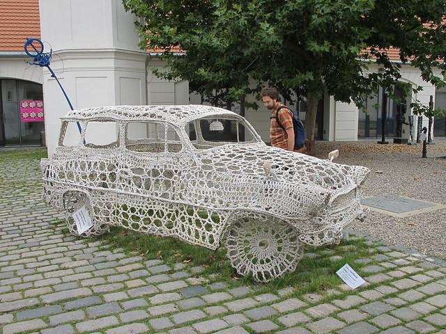 Crocheted Car