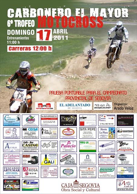 Motocross Carbonero el Mayor 2011 Trofeo Provincial Segovia 2011