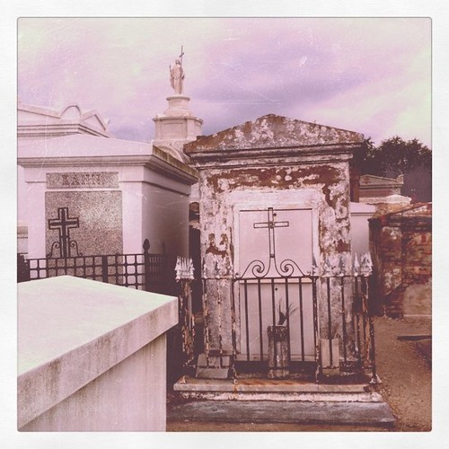 Project 365 103/365: On a cemetary tour in New Orleans with @TiffanyRom @sahans and @Taunitweets