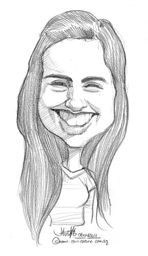 caricature in pencil - 32