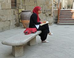 Al Muizz Street (Easy Traveler) Tags: egypt hijab abaya