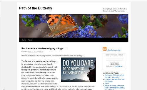 Path of the Butterfly