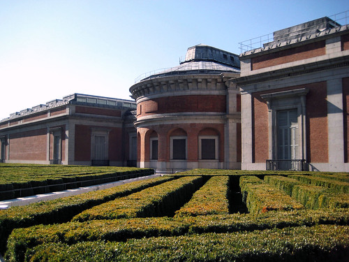 Courtyard of Museo Del Prado