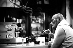Film (hiro4.11) Tags: portrait white black film monochrome canon ftb モノクロ
