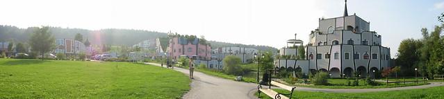 Hundertwasser à Blumau, Autriche