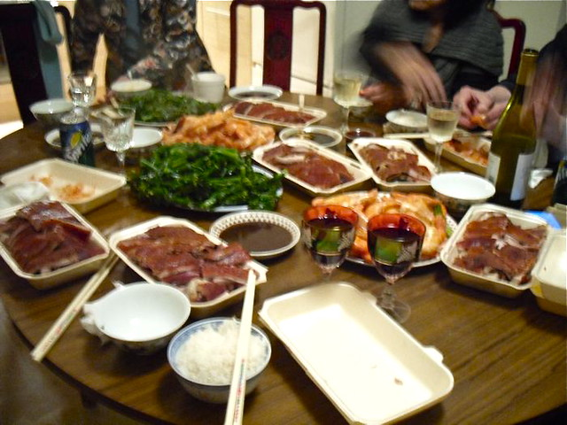 Housewarming feast