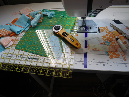 Quilting bees are messy!