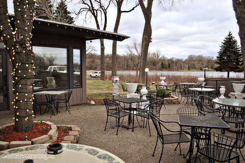 Patio at Shorewood Bar & Grill ~ Fridley, MN