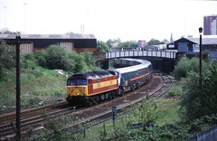 Leeds, Engine Shed Junction. (cabsaab900) Tags: leeds engineshedjunction 47786