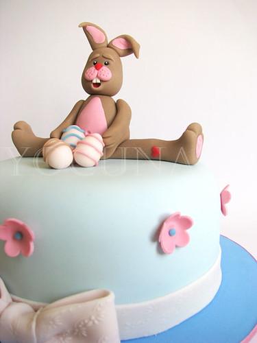 Tarta conejo de pascua / cake Easter bunny