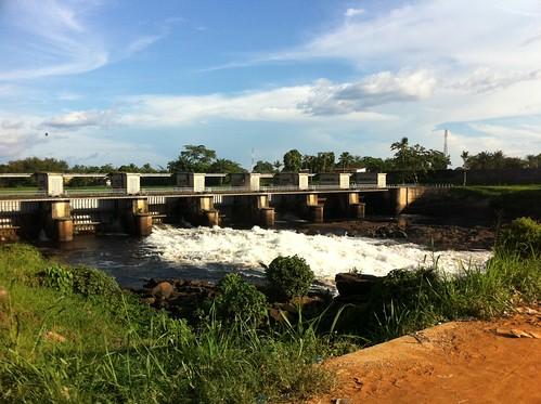 Kisangani Falls by amalthya