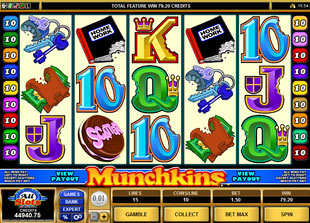 Munchkins slot game online review