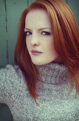 Au Natural (Szmytke) Tags: portrait beauty fashion pose scotland ginger rachel redhead teenager teenage alford