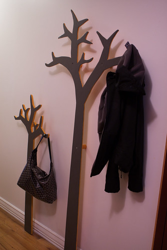 Tree Coatrack installed