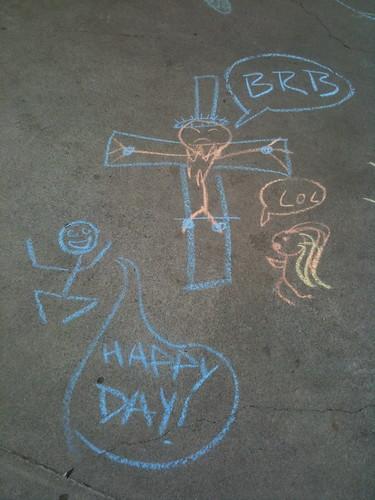 Jesus Says BRB