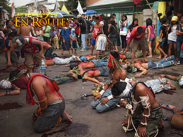 Of Flagellants, Carozzas and Good Friday in Angeles City